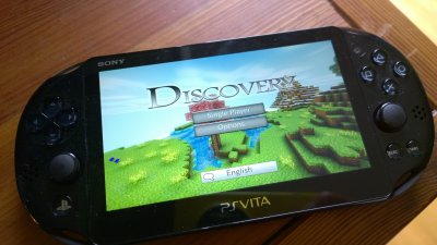 Discovery 2.0 on PS Vita!